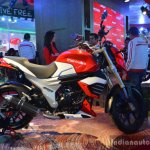 Mahindra Mojo side profile live