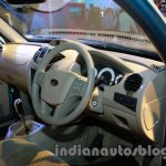 Mahindra Quanto autoSHIFT AMT cockpit at Auto Expo 2014