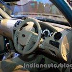 Mahindra Quanto autoSHIFT AMT cockpit at Auto Expo 2014