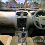 Mahindra Quanto autoSHIFT AMT dashboard full view at Auto Expo 2014