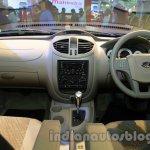 Mahindra Quanto autoSHIFT AMT dashboard full view at Auto Expo 2014