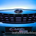 Mahindra Quanto autoSHIFT AMT grille at Auto Expo 2014