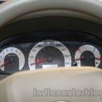 Mahindra Quanto autoSHIFT AMT instrument cluster Auto Expo 2014