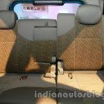Mahindra Quanto autoSHIFT AMT rear seat at Auto Expo 2014