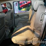 Mahindra Quanto autoSHIFT AMT rear seat space at Auto Expo 2014