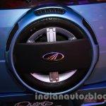 Mahindra Quanto autoSHIFT AMT spare wheel at Auto Expo 2014