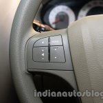 Mahindra Quanto autoSHIFT AMT steering controls at Auto Expo 2014