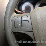 Mahindra Quanto autoSHIFT AMT steering controls at Auto Expo 2014