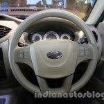 Mahindra Quanto autoSHIFT AMT steering wheel at Auto Expo 2014