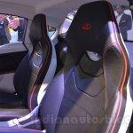 Mahindra Reva HALO concept seat live