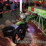 Mahindra Scrambler Auto Expo 2014 front