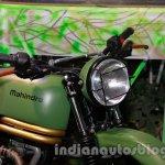Mahindra Scrambler Auto Expo 2014 headlight