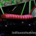 Mahindra Scrambler Auto Expo 2014 seat