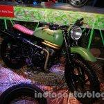 Mahindra Scrambler Auto Expo 2014 side 2