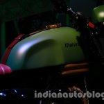 Mahindra Scrambler Auto Expo 2014 tank