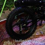 Mahindra Scrambler Auto Expo 2014 wheel design