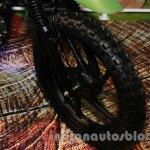 Mahindra Scrambler Auto Expo 2014 wheel