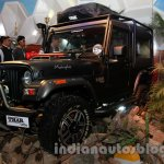 Mahindra Thar Midnight Edition Auto Expo front quarter