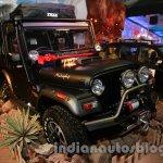 Mahindra Thar Midnight Edition Auto Expo front quarters
