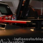 Mahindra Thar Midnight Edition Auto Expo hood scoop
