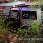 Mahindra Thar Midnight Edition Auto Expo rear quarter