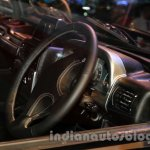 Mahindra Thar Midnight Edition Auto Expo steering