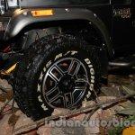 Mahindra Thar Midnight Edition Auto Expo wheel