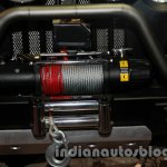 Mahindra Thar Midnight Edition Auto Expo winch