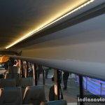 Mahindra Tourister Cosmo 40 seater overhead luggage compartment live