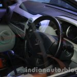 Mahindra Verito Electric dashboard at Auto Expo 2014