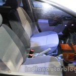 Mahindra Verito Electric front seats at Auto Expo 2014