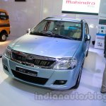 Mahindra Verito Electric front three quarters at Auto Expo 2014