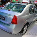 Mahindra Verito Electric rear three quarters at Auto Expo 2014