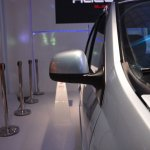 Mahindra Verito electric facelift from Auto Expo 2014 side mirror