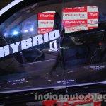 Mahindra XUV500 diesel hybrid interior at Auto Expo 2014