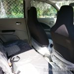 Maruti Celerio VXi AMT Drive rear seat