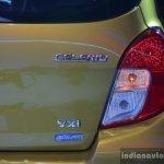Maruti Celerio taillight detail live