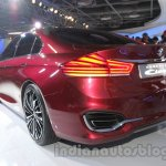 Maruti Ciaz Concept rear three quarters left