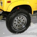 Maruti Gypsy Escapade wheel detail live