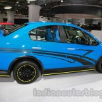 Maruti SX4 Sport side profile live