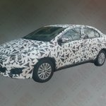 Maruti Suzuki Ciaz spied China front quarter