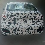 Maruti Suzuki Ciaz spied China rear