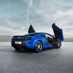 McLaren 650S rear three quarter press shot