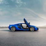 McLaren 650S side press shot