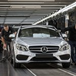 Mercedes-Benz C-Class Bremen plant inauguration rollout press shot