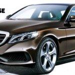 Mercedes-Benz E Class front three quarter rendering
