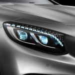 Mercedes-Benz S-class Coupe S500 headlamp