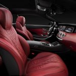 Mercedes-Benz S-class Coupe front seats