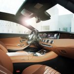 Mercedes-Benz S-class Coupe interiors brown