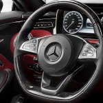 Mercedes-Benz S-class Coupe steering wheel